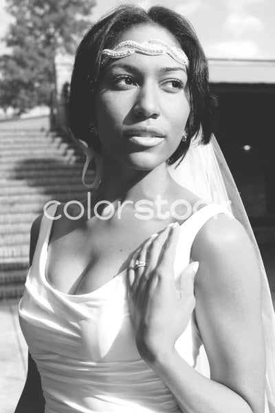 Bride close-up image - Colorstock™  © Casha Dees  - diverse stock photos