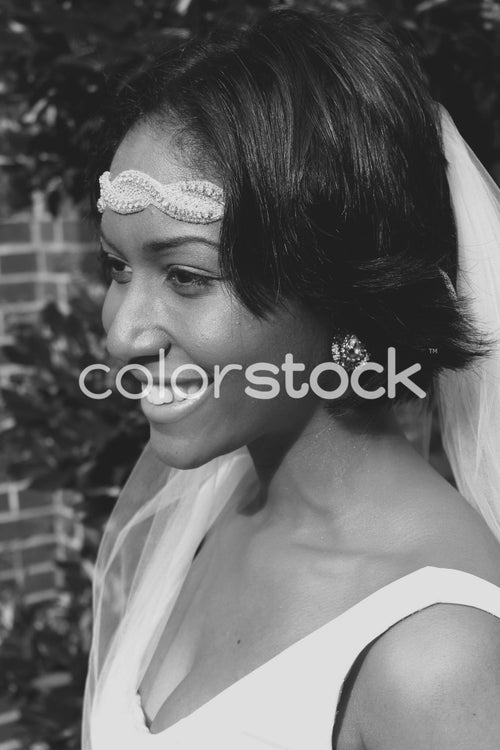 Bride side-view - Colorstock™  © Casha Dees  - diverse stock photos