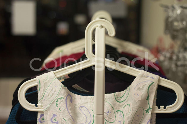 Clothes on a hanger - Colorstock™  © Integrative Flash  - diverse stock photos