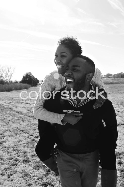 Couple laughing - Colorstock™  © Casha Dees  - diverse stock photos