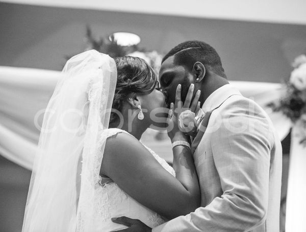 First kiss after wedding - Colorstock™  © Integrative Flash  - diverse stock photos