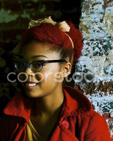Girl with glasses - Colorstock™  © David Huff  - diverse stock photos