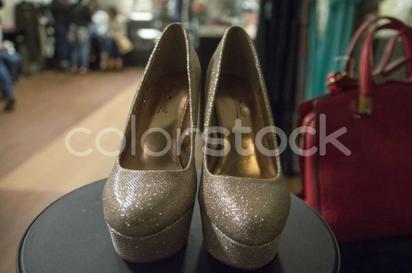 Glittery heels - Colorstock™  © Integrative Flash  - diverse stock photos