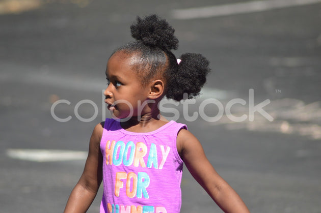 Little girl playing at park - Colorstock™  © Integrative Flash  - diverse stock photos