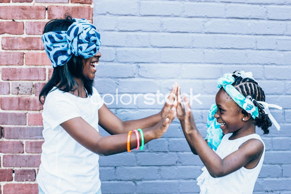 Little girls playing - Colorstock™  © Latoya Dixon  - diverse stock photos