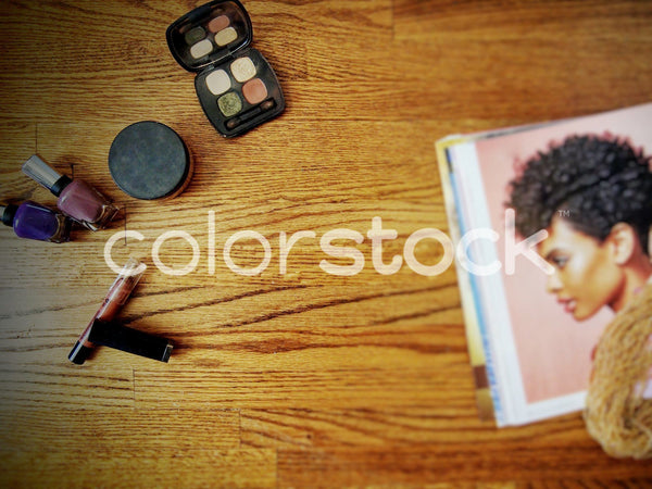 Makeup and magazine - Colorstock™  © Jenifer Daniels  - diverse stock photos