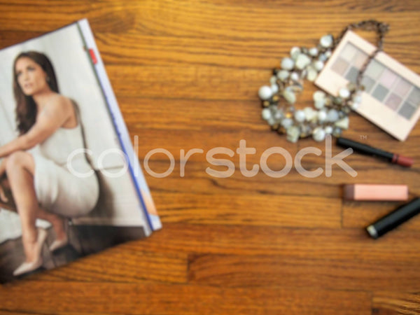 Makeup, necklace and fashion spread - Colorstock™  © Jenifer Daniels  - diverse stock photos