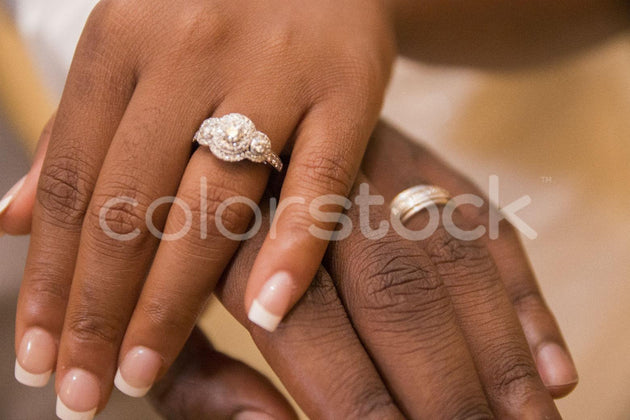 Married couple's ring - Colorstock™  © Integrative Flash  - diverse stock photos