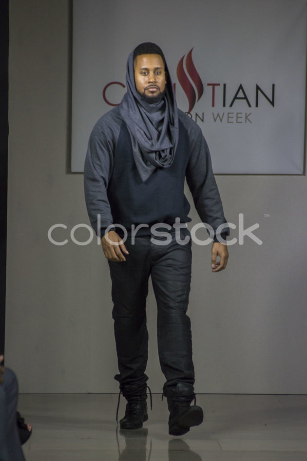 Model on runway - Colorstock™  © Integrative Flash  - diverse stock photos