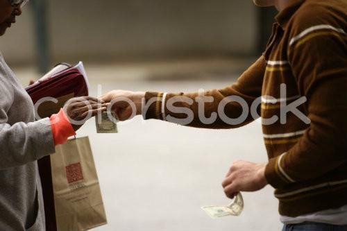Older woman shopping - Colorstock™  © David Huff  - diverse stock photos