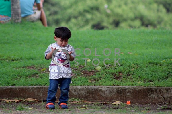 Panamanian boy in the park - Colorstock™  © Dahlia Dreszer  - diverse stock photos