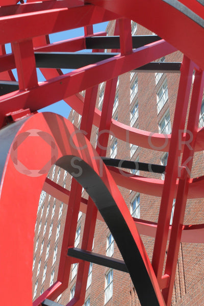 Urban sculpture - Colorstock™  © Tee Dubose  - diverse stock photos