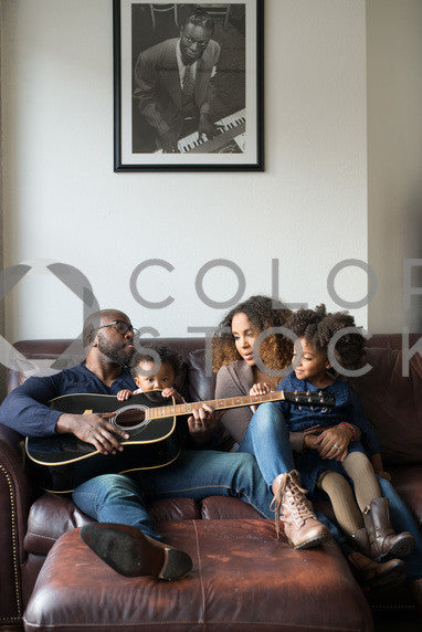 Family relaxing on the couch - portrait, Some Sweet Photography - Colorstock: diverse stock photos