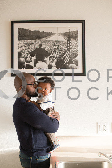 Father and son in color, Some Sweet Photography - Colorstock: diverse stock photos