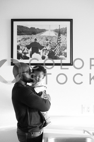 Father and son in Black and White, Some Sweet Photography - Colorstock: diverse stock photos