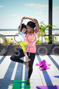 Kid and mom doing yoga, Some Sweet Photography - Colorstock: diverse stock photos
