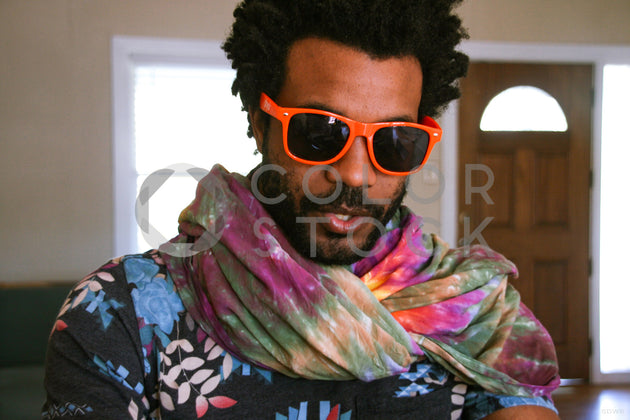 Cool guy in sungalssess - Colorstock™  © Stephanie Warren  - diverse stock photos