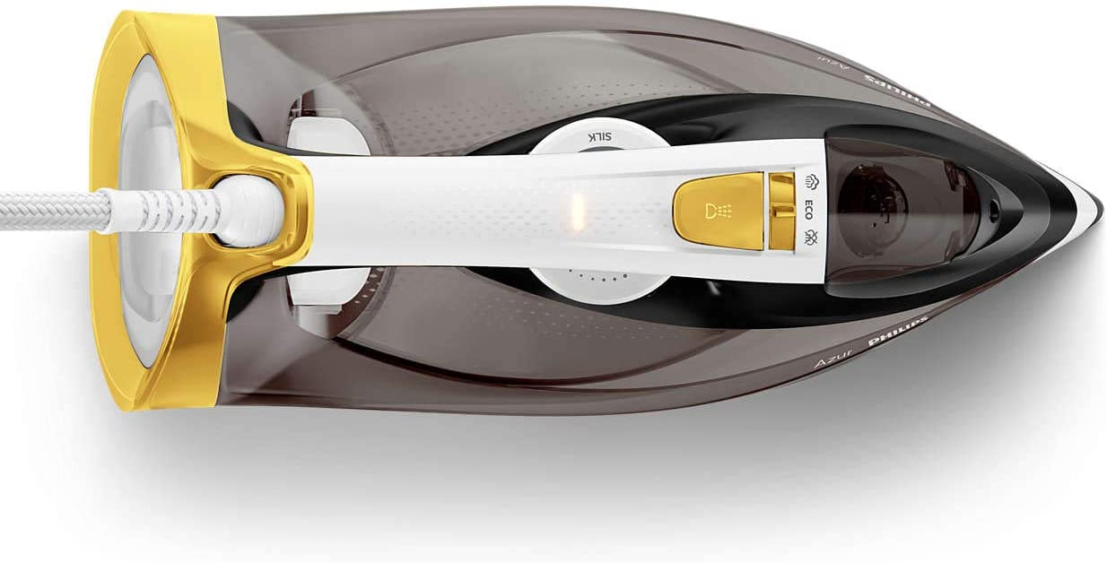Philips GC4537/86 Azur Steam Iron with Quick Calc Release - 2400W Power
