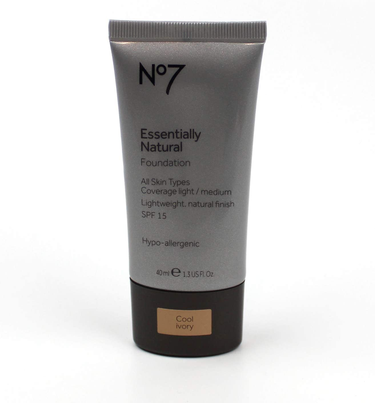 No7 Essentially Natural Foundation Cool Ivory
