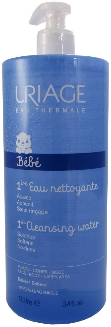 Baby's 1st Skin Care by Uriage Eau Thermale 1er Eau: 1st Water Gentle Cleansing Water 1000ml