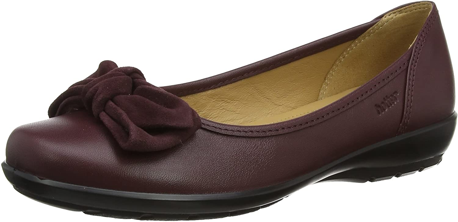Hotter Women's Jewel Closed Toe Ballet Flats