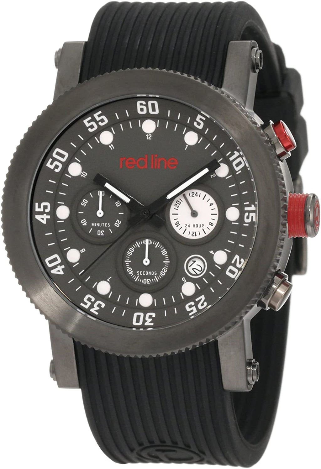 red line Men's RL-18101VD-014WH-GUN Watch