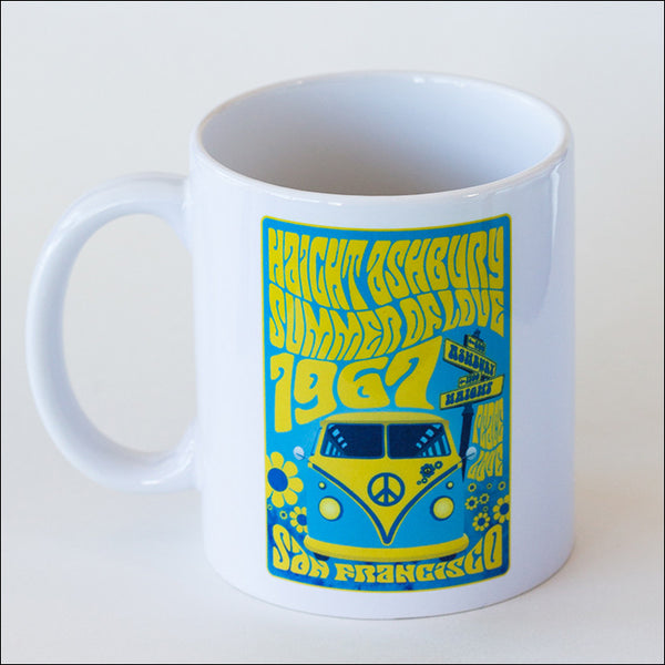 Get your day started right with a big cuppa joe in a totally Groovy coffee mug