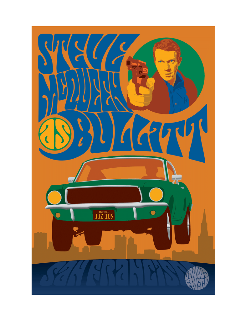 GF02SP - Steve McQueen as Bullitt