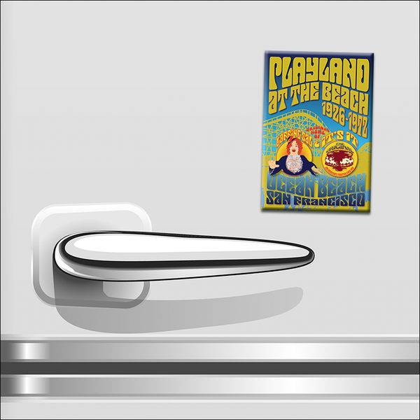 "GF19F - 2"" x 3"" Playland At The Beach Magnet"
