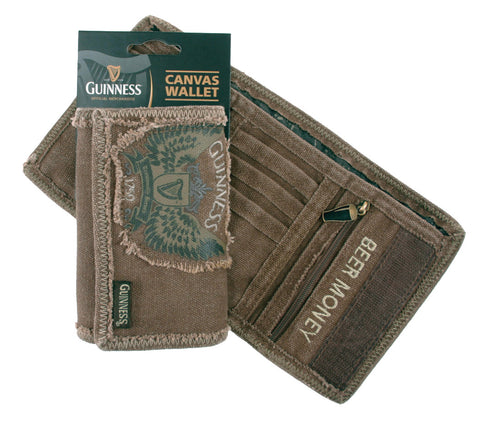 Guinness | Gift | Wings Canvas Wallet