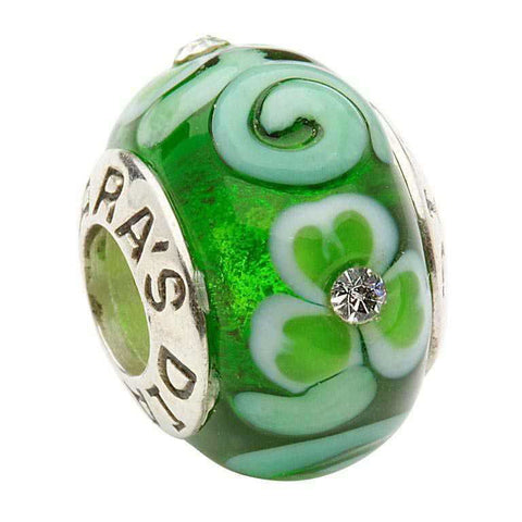 Murano Glass Spiral Bead