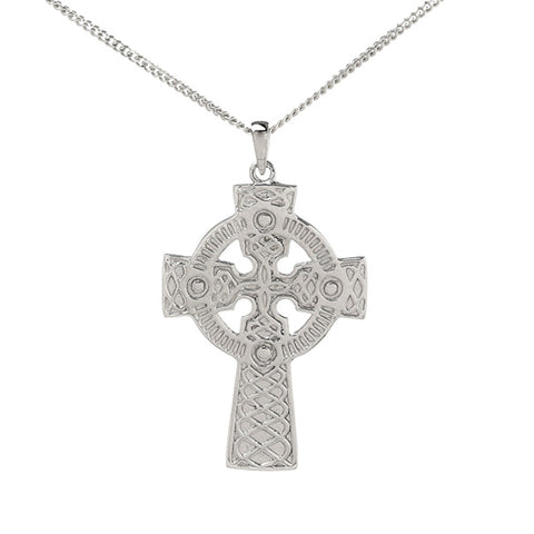 Double Sided Cross And Chain Nacklace