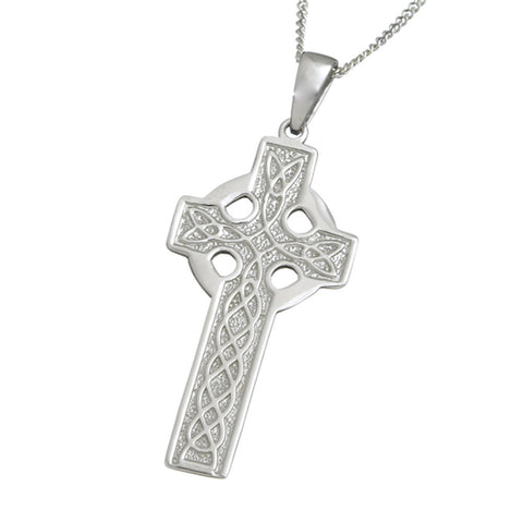 Necklace | Large Double Sided Cross And Chain