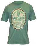 Guinness Green Gaelic Label Tee Shirt