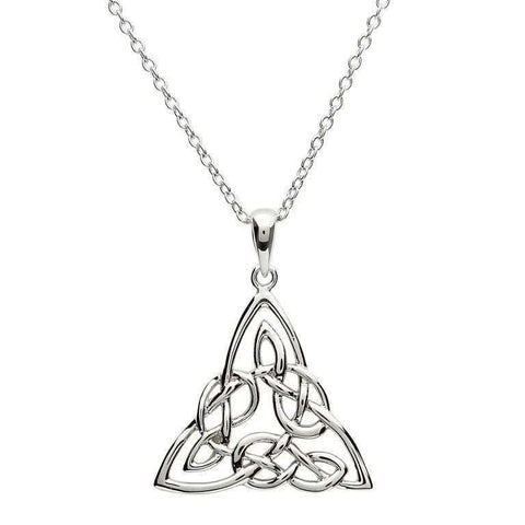 Triangle Knot Necklace