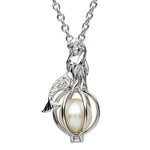 SharOre Swarovski Mermaid Pearl Pendant Necklace