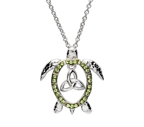 Swarovski Turtle Trinity Necklace