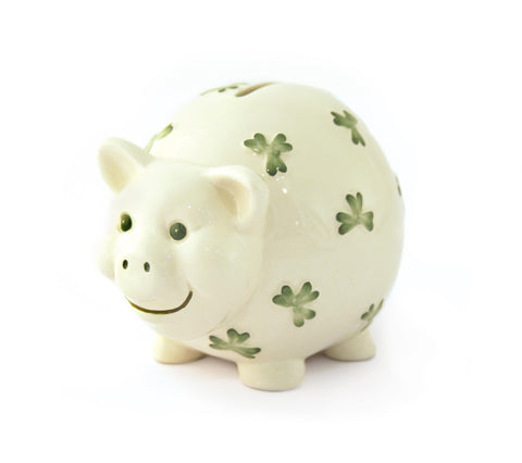 Watervale China Pig Money Box Gift