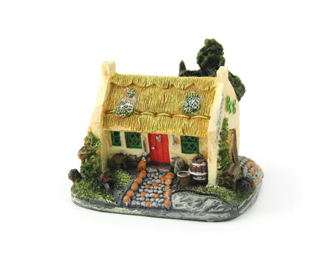 Irish Cottage Figure Gift