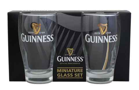 Guinness Mini Livery Pint Glass 2pk Glass