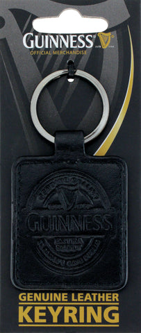 Guinness | Gift | Leather Keyring