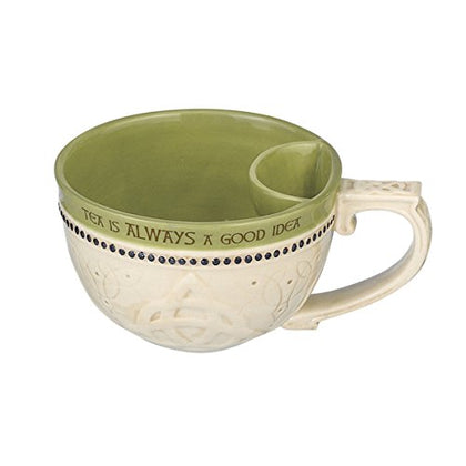 Tea Cup | Tea Cup with Bag Holder