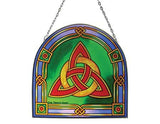 Trinity Knot Panel Stained Glass