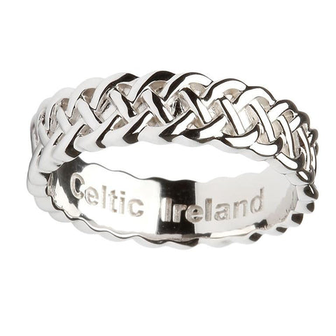 Men's Celtic Eternity Band Ring