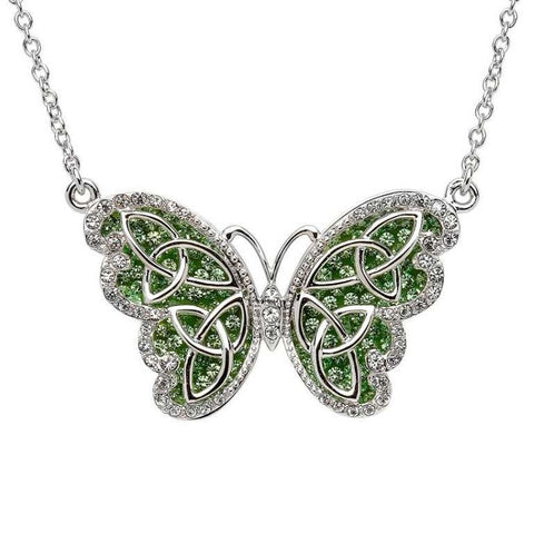 Necklace | Peridot Butterfly