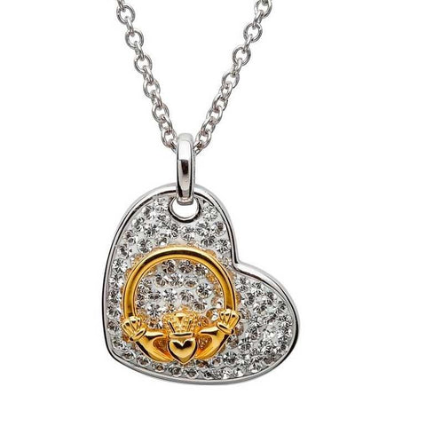 SharOre Claddagh Heart Necklace