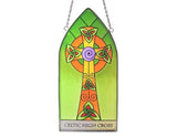 High Cross Gothic Panel Stained Glass