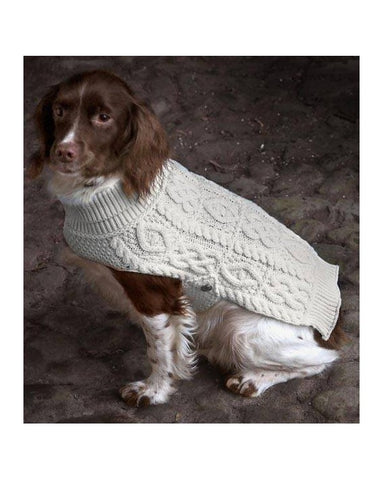 Aran Dog Coat - Medium