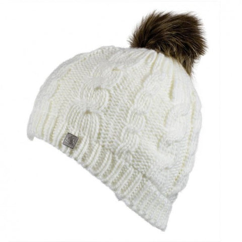 Hat | White Bobble Hat