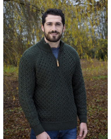 Half Zip Super Soft Sweater